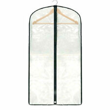 Clear See-Through Suit / Dress / Garment / Clothes Cover Protector Dust Bag