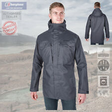 Berghaus Hombre Ruction 2.0 Chaqueta Impermeable - Gris Oscuro - Nuevo
