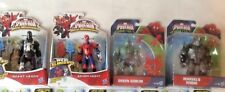 """MARVEL ULTIMATE SPIDER-MAN SINISTER6 AND WEB-WARRIORS 6"""" ACTION FIGURES"""