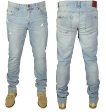 Mens Brand New Ripped Stretch Jeans Only&Sons in Light Blue Colours SALE £14.99