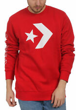 Converse Homme Pull Star Chevron équipage graphique 10006434 603 Rouge