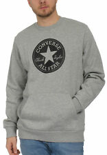 Converse Homme Pull Mandrin Patch équipage graphique 10005825 035 gris