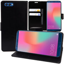 """Etui Housse Coque Portefeuille Rabat Cuir Huawei Honor View 10 5.99""""/ Honor V10"""