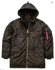 Alpha Industries n3-b PM Giacca Bomber Pilota Verde oliva scuro MIMETICI NUOVO
