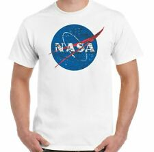 NASA - Hombre Geek Nerd BIG BANG THEORY LOGO CAMISETA RETRO SPACE Sheldon Cooper
