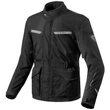 REV'IT! Enterprise hombre chaqueta textil de Motocicleta Touring - Negro