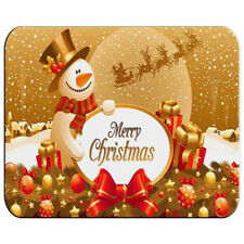 TAPPETINO BUON NATALE PUPAZZO NEVE mousepad mouse ES