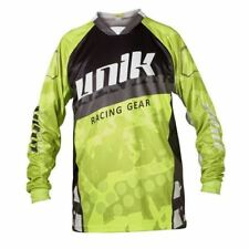 "CAMISETA CROSS UNIK ""MX01"" NEGRO/ AMARILLO FLUOR"