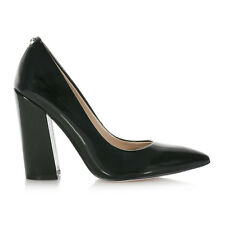 SCARPE GUESS DONNA RIDLEY decollete in vernice COLORE BLACK FLRID3PAT08