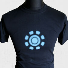 Iron Man Arc Reactor Nuevo Superhéroe Camiseta Marvel Retro SCI FI Vengadores