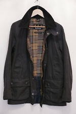 "Mens Barbour Ashby size M Medium 38"" smart waxed navy jacket rrp £199"