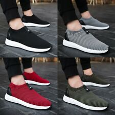 Homme Breathable Running Sports Shoes Casual Athletic Sneakers Comfy Gym Trainer