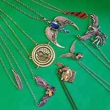 Harry Potter - Magical Charms Necklace Pendant - Snitch Owl Hedwig Leviosa - NEW