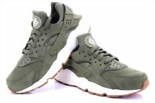 Mens Nike Air Huarache Casual Sneakers Olive/Sail 318429 201 Trainers