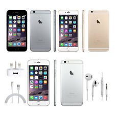 Apple iPhone 6 Gold Silver Grey 16GB 64GB 128GB Unlocked - Pristine Cord. Phone