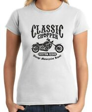 T-shirt Donna TB0370 motorcycle vintage racing