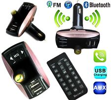 Dual USB Wireless LCD Bluetooth Car FM Radio Transmitter MP3 Music Player Kit