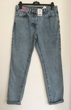 NEXT Acid Wash Relaxed Jeans 10/14 RRP £26