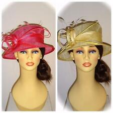 Maddox (by Whiteley) Hat, Cameo Pink or Lemonade Yellow, Mother of Bride Ascot