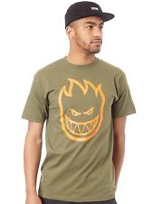 Camiseta Spitfire Covert Bighead Limited Edition Military Verde