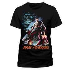 Official EVIL DEAD ARMY OF DARKNESS Bruce Campbell T-Shirt Tee NEW & IN STOCK