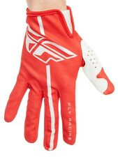 Guantes MX Fly Racing 2018 Lite Rojo-gris