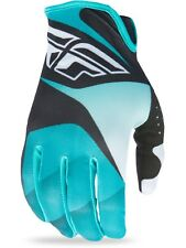 Guantes MX Fly Racing 2017 Lite Negro-blanco-Teal