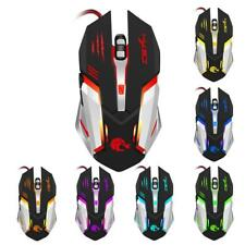 Wired Mouse Usb Gaming Ergonomic Optical Led Dpi Pc Laptop Pro Gamer Scroll Mice