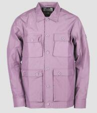 WEEKEND OFFENDER SALINGER OVERSHIRT IN LILAC