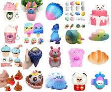 Jumbo Slow Rising Squishies Scented New Craze Toy Charms Stress Reliever Lot
