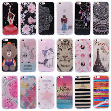Diamand Strass Housse Etui Coque Pour iPhone 6 7 Plus Bling Souple luxe Cover