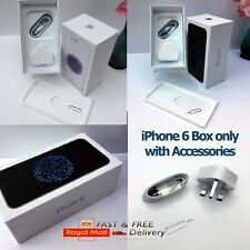 Original Apple iPhone 6 box only with Accessories CHOOSE COLOURS AND MEMORY