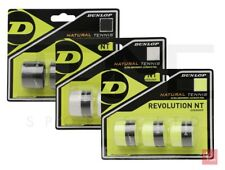 Dunlop Revolution NT Tennis Overgrip Pack of 3 - (3 colours available)