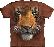 The Mountain Unisexe Enfant Tigre Visage T Shirt