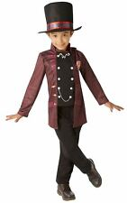Child Willy Wonka Boys Costume Roald Dahl Chocolate Factory Book New