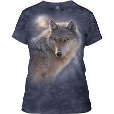 The Mountain Ladies Adult Adventure Wolf Wolves T Shirt