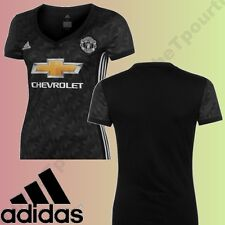 @TOP 2017@ MAGLIA ADIDAS MANCHESTER UNITED UFFICIALE OUTDOOR 2017-2018 DONNA