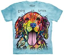 The Mountain Maglietta Dog Is Love Animal Bambino Unisex