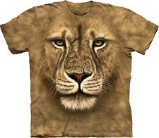 The Mountain Maglietta Lion Warrior Big Cats Bambino Unisex