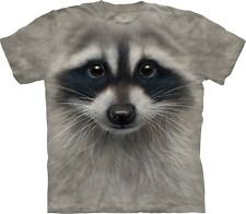 The Mountain Maglietta Raccoon Face Anima Bambino Unisex