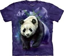 The Mountain Maglietta Panda Collage Panda Bambino Unisex