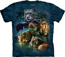 Mountain Maglietta Big Cats Jungle Big Cats Bambino Unisex