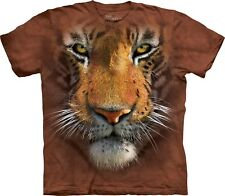 The Mountain Maglietta Tiger Face Big Cats Bambino Unisex