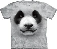 The Mountain Maglietta Big Face Panda Animal Bambino Unisex