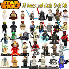 figurines type lego Star Wars figures blocks Star Wars compatible lego