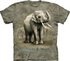 The Mountain Maglietta Asian Elephants Zoo Adulto Unisex