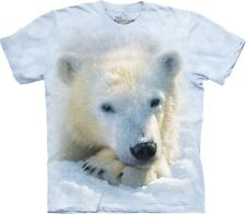 The Mountain Maglietta Unisex Adulto Polar Bear Cub Zoo