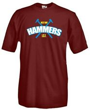 T-Shirt girocollo manica corta Supporters T03 West Ham Hammers Inter City Firm