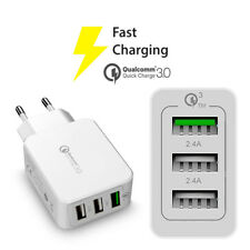 CARICATORE FAST CHARGE 3 AMPERE  PER IPHONE UNIVERSALE SPINA CARICA VELOCE