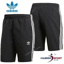 COSTUME UOMO ADIDAS ORIGINALS CW1305 SWIM 3-STRIPES SHORT NERO NUOTO